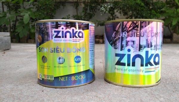 sơn sắt mạ kẽm 1K Zinka