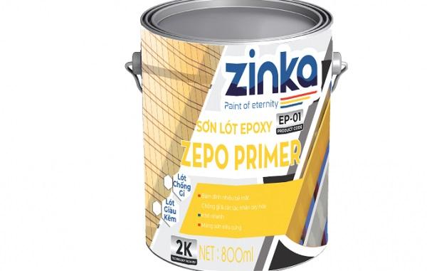 sơn lót epoxy 2K Zinka