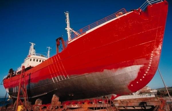 Quy trình sơn tàu biển đúng tiêu chuẩn