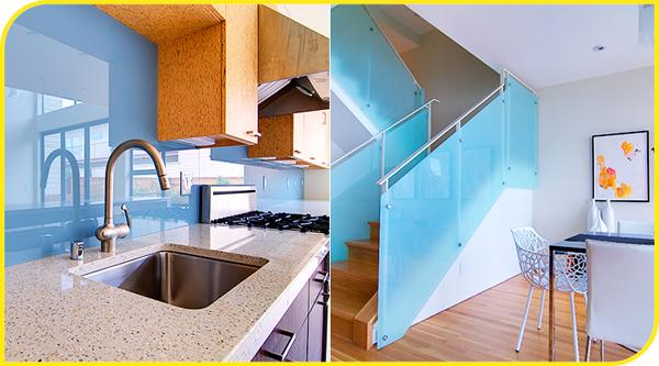 Sơn kính màu cường lực dùng trang trí cho ngôi nhà